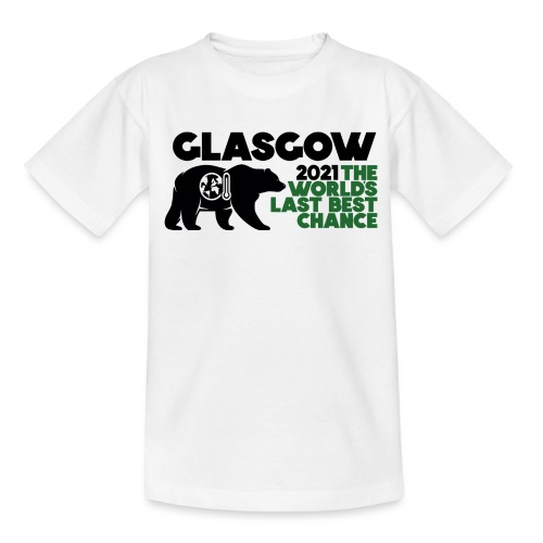 Last Best Chance - Glasgow 2021 - Teenage T-Shirt