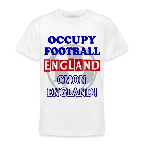 occupy football england - Teenage T-Shirt