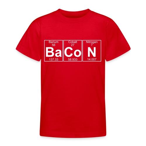 Ba-Co-N (bacon) - Full - Teenage T-Shirt