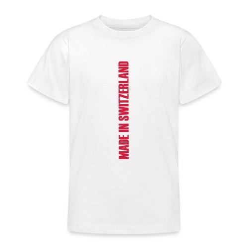 made in switzerland neu - Teenager T-Shirt