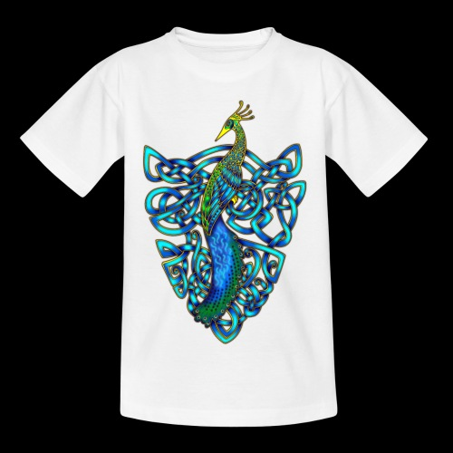 Peacock - Teenage T-Shirt