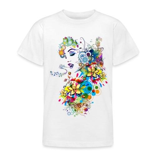 Lady singer - T-shirt Ado