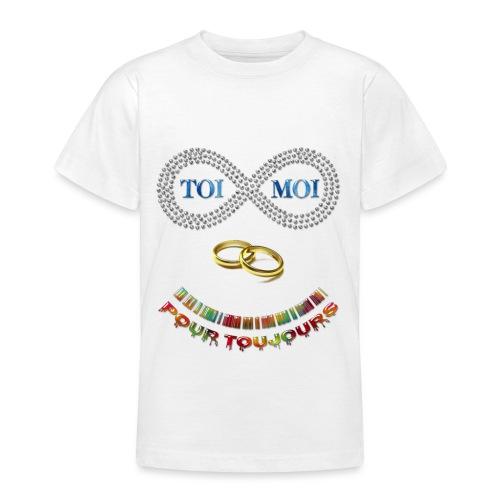 Toi et moi pour toujours - T-shirt Ado