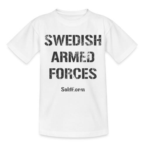 Swedish Armed Forces - T-shirt tonåring