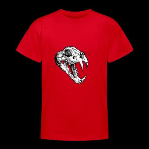Teschio Tigre - Maglietta per ragazzi