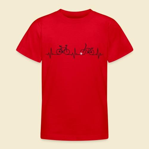 Heart Monitor Kunstrad & Radball - Teenager T-Shirt