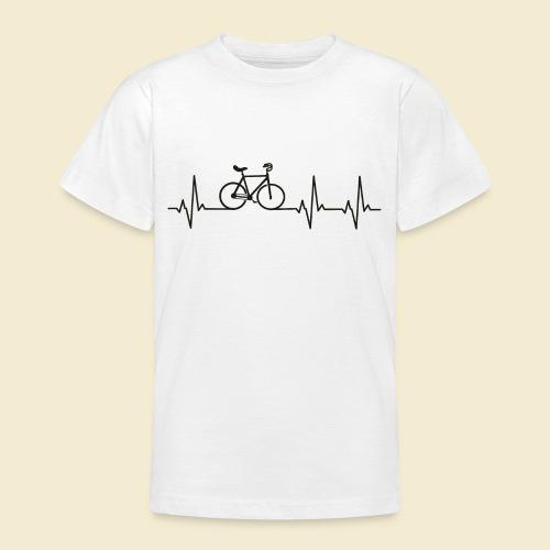 Kunstrad   Artistic Cycling   Heart Monitor Black - Teenager T-Shirt