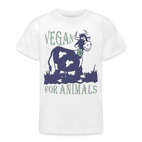 VEGAN FOR ANIMALS - Teenager T-Shirt
