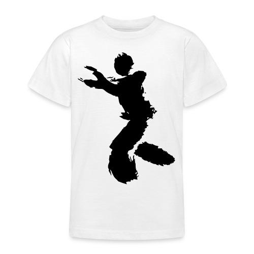Wing Chun / Kung Fu Tusche Figur VEKTOR - Teenage T-Shirt