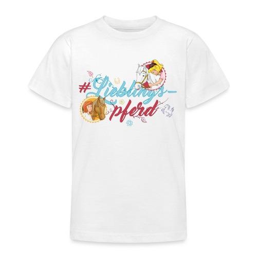 Bibi und Tina 'Lieblingspferd' - Teenager T-Shirt