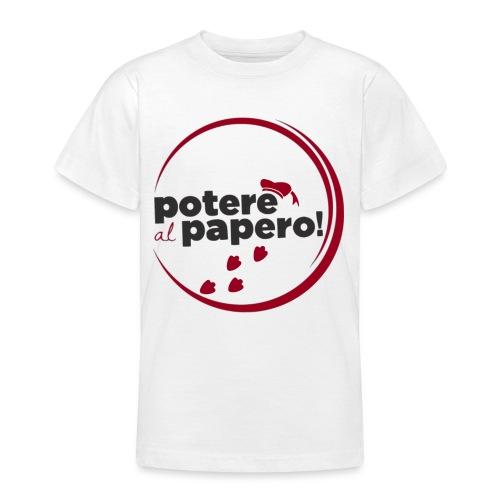 Potere al Papero - Maglietta per ragazzi