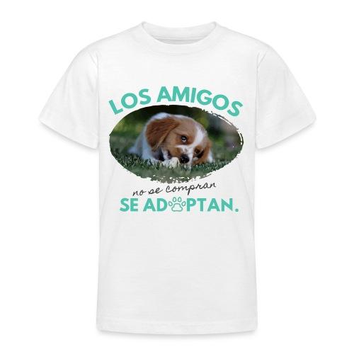 Adopta y Salva una Vida - Camiseta adolescente