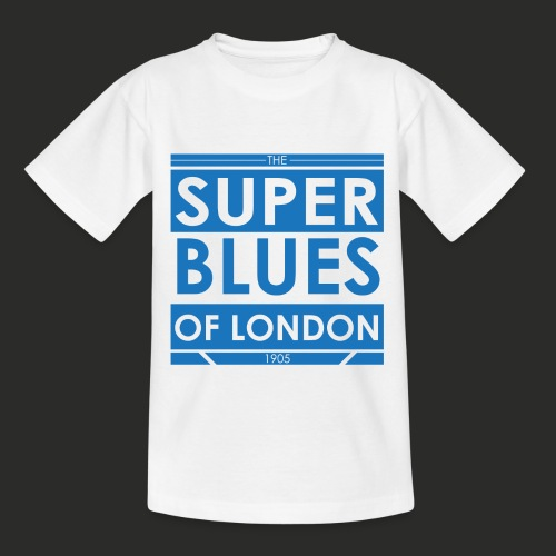 Super Blues of London Des - Teenage T-Shirt