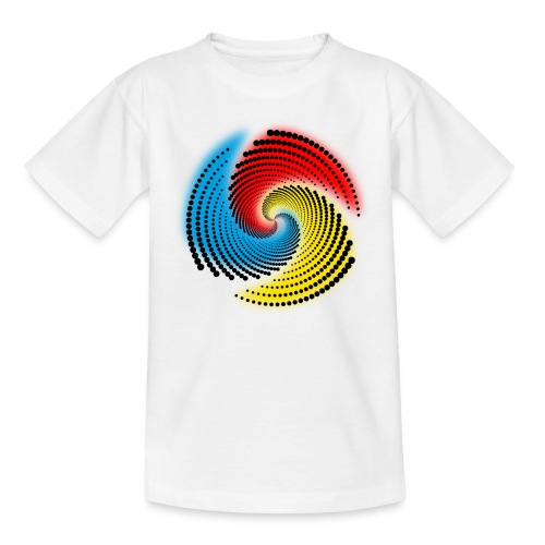 Farbspirale - Teenager T-Shirt