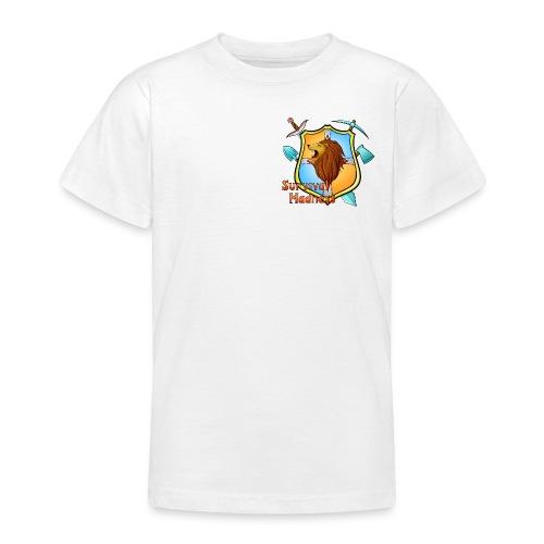LionMaker SURVIVAL MADNESS Emblem PNG png - Teenage T-Shirt
