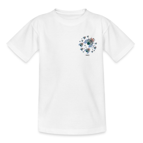 bluebottleswarmlogo - Teenage T-Shirt