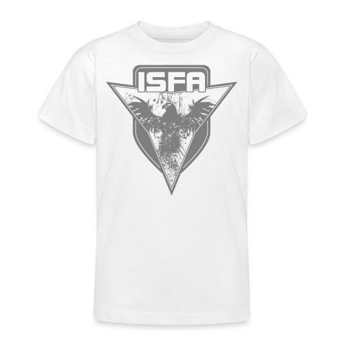 isfa logo 1c grau - Teenager T-Shirt
