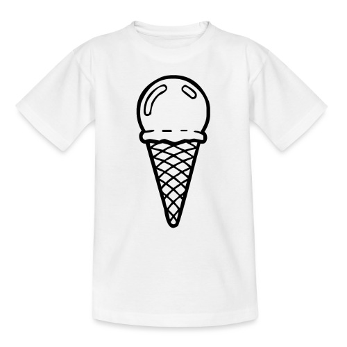 Bestes Eiscreme-Design online - Teenager T-Shirt