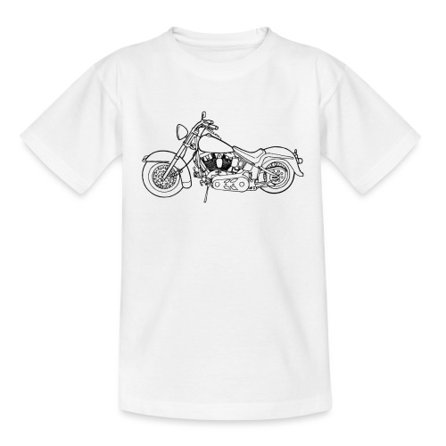 Beste Motorrad Designs - Teenager T-Shirt