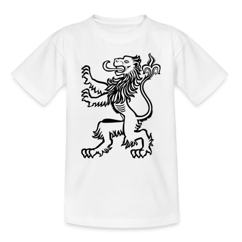 Bestes Löwen Design online - Teenager T-Shirt