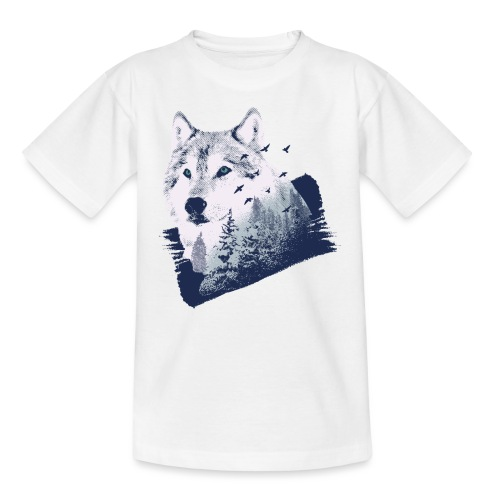 Bestes Wolfswald Design - Teenager T-Shirt