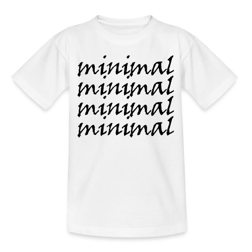 Minimal Design - Teenager T-Shirt