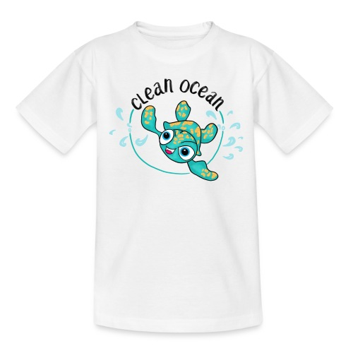 Clean Ocean - Teenage T-Shirt