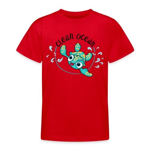 Clean Ocean - Teenage T-Shirt
