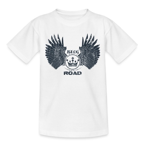 WINGS King of the road dark - Teenager T-shirt