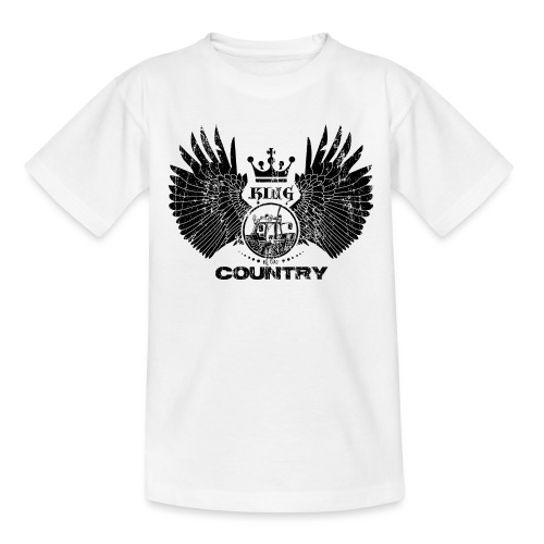 IH King of the country (black design) - Teenager T-shirt