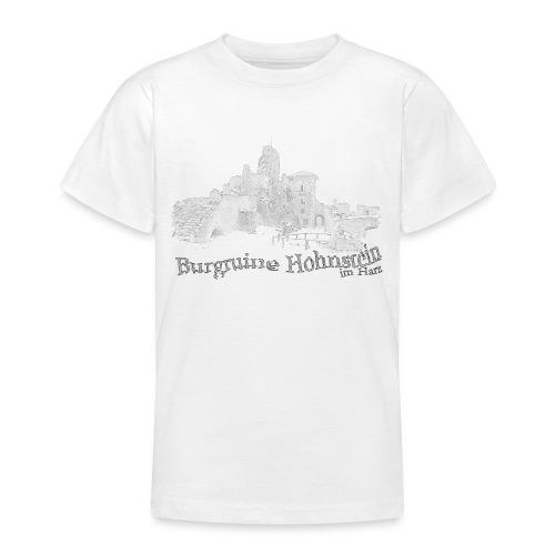 burgruine hohnstein harz 2 - Teenager T-Shirt