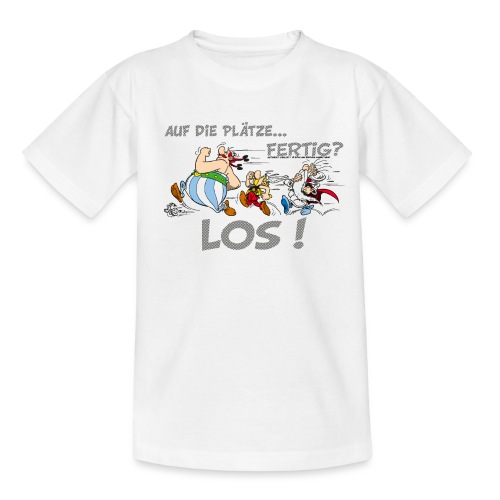 Asterix Obelix Auf die Plätze... Fertig? Los! - T-shirt Ado