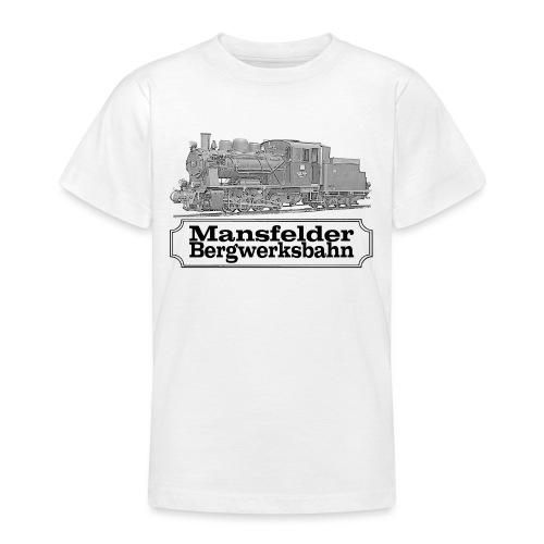 mansfelder bergwerksbahn dampflok 2 - Teenager T-Shirt