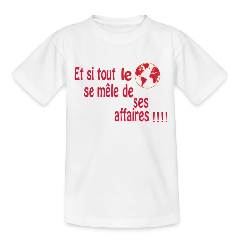 BNT création - T-shirt Ado