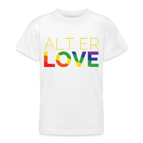 Alt er Love | SKAM | LGBT | Pride - Teenager T-Shirt