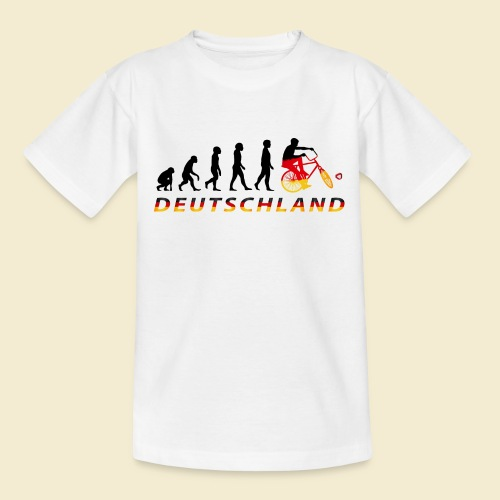 Radball | Evolution Deutschland - Teenager T-Shirt