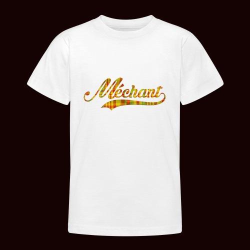 méchant madras - T-shirt Ado