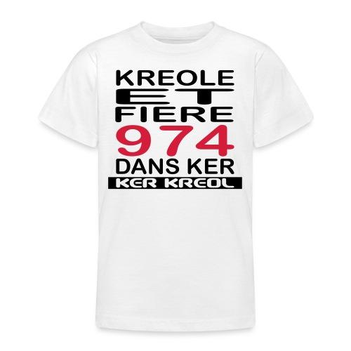 Kreole et Fiere - 974 ker kreol - T-shirt Ado