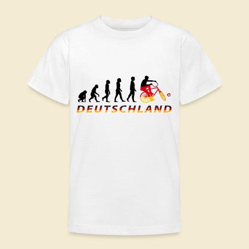Radball   Evolution Deutschland - Teenager T-Shirt