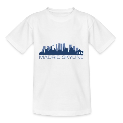 MADRIDSKYLINE - Camiseta adolescente