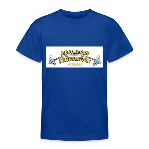 mouilleron muscu logo pour tee shirt 311 - T-shirt Ado