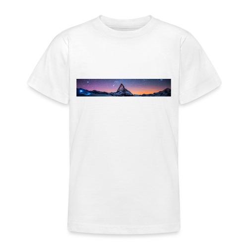 Mountain sky - Teenager T-Shirt