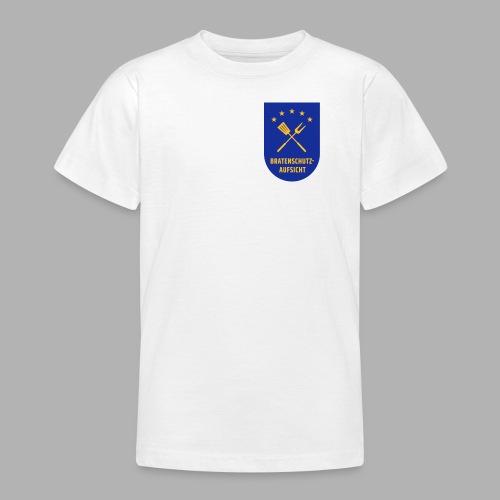 EU Bratenschutz-Aufsicht Dienstabzeichen blau - Teenager T-Shirt