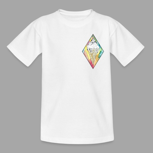 Montagne glacée - La valse à mille points - T-shirt Ado