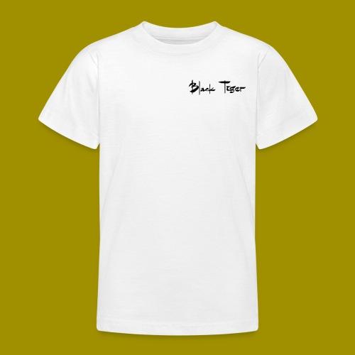 Black Tiger Name - Teenage T-Shirt