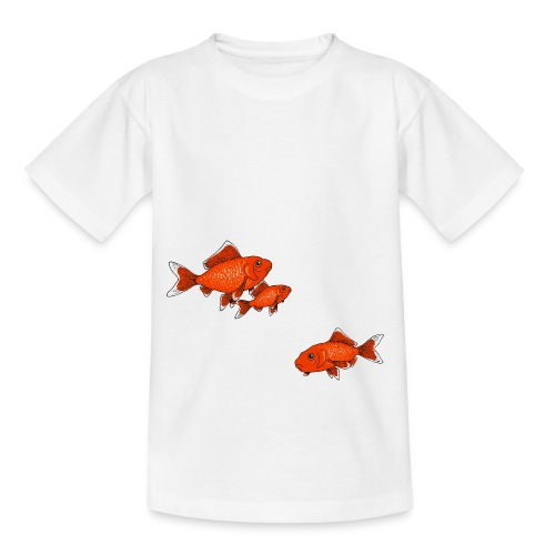 Poissons rouges - T-shirt Ado