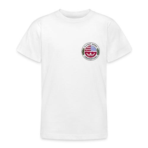 Wappen Farblogo - Teenager T-Shirt