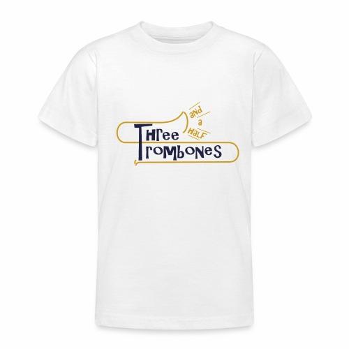 312 Trombones Logo Striche - Teenager T-Shirt