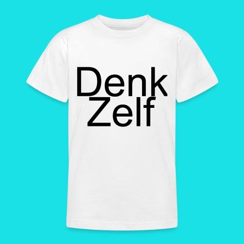 denk zelf - Teenager T-shirt