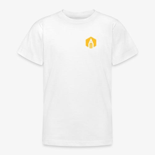 kh_hexagon_black - Teenage T-Shirt